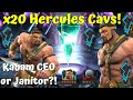x20 Hercules Cav Crystal Opening! Kabam CEO or Janitor?! 6-Star? - Marvel Contest of Champions