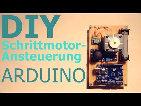 Schrittmotor mit Arduino verwenden!