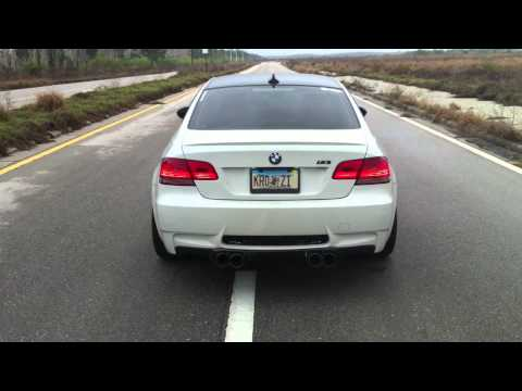 E92 ///M3 with RPi GTM Race Exhaust