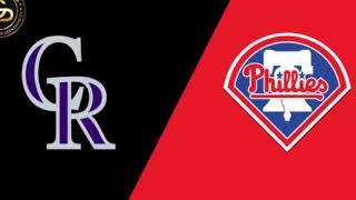 MLB Colorado Rockies vs Philadelphia Phillies Prediction 4/18/2019