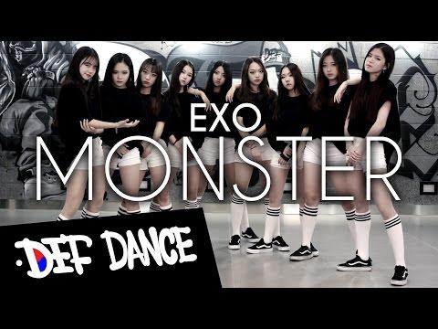 [댄스학원 No.1] EXO (엑소) - Monster (몬스터) KPOP DANCE COVER / 데프수강생 월말평가 방송댄스 안무 가수오디션 정보 실용음악 보컬 defdance