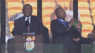 Deaf Interpreter At Mandela Memorial Was 'Fake'