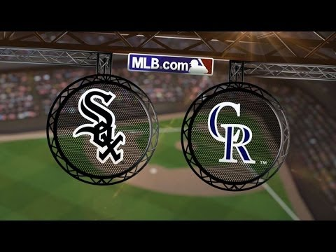 4/8/14: Six White Sox home runs rout Rockies