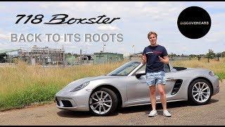 Why the 2019 Porsche 718 Boxster IS a REAL Porsche!