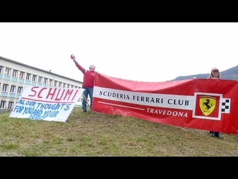 Michael Schumacher's condition showing
