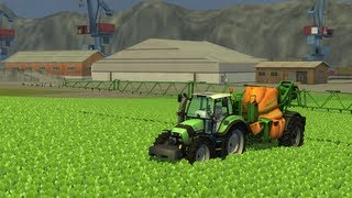 Farming Simulator 2013 Spraying (AMAZONE UX 5200)