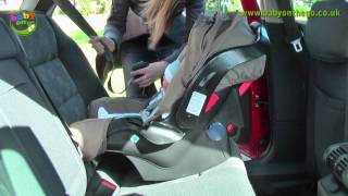 Graco Junior Baby Car Seat (Rear Facing Seat) Fitting Guide