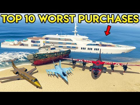 TOP 10 WORST PURCHASES IN GTA ONLINE (Updated)