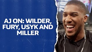 ANTHONY JOSHUA on Tyson Fury, Deontay Wilder, Jarrell Miller & Oleksandr Usyk | William Hill Boxing