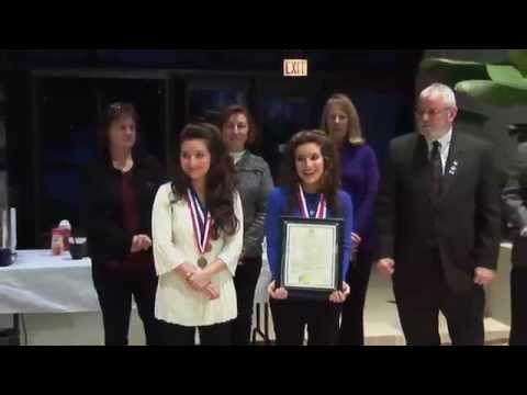 Conant High School - Reception State Champion Conant Cheerleaders - March 3, 2014