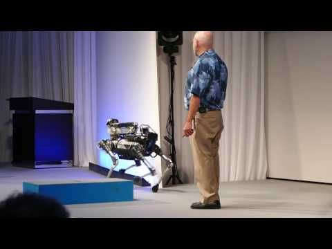 "Boston Dynamics ""SpotMini"" Softbank World 2017"