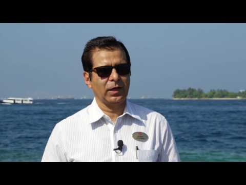 Utkarsh Faujdar, general manager, Hulhule Island Hotel, Maldives