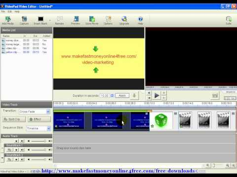nch video editing software tutorial