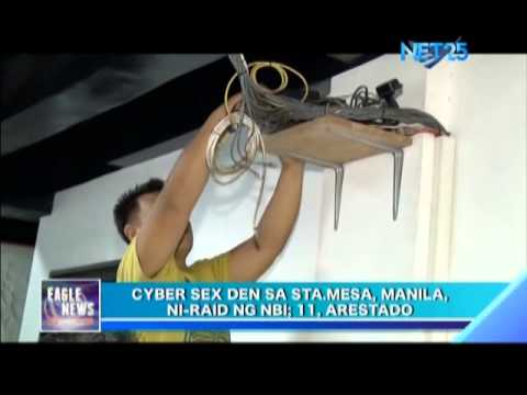 Cyber sex Den in Sta  Mesa, Manila, raided by NBI; 11 arrested