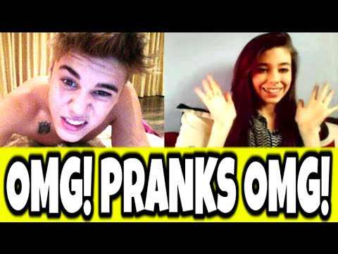 *TOP 5* CELEBRITY PRANKS OMEGLE - JUSTIN BIEBER, MILEY CYRUS, EMINEM, 50 CENT, ONE DIRECTION