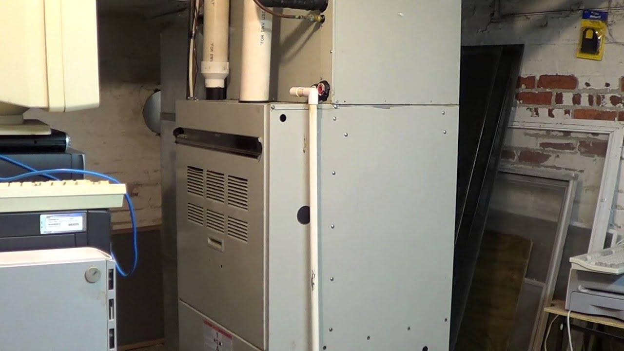 comfortmaker enviroplus 90 rpj ii furnace startup  u0026 shutdown
