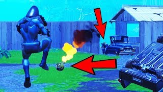 I Jumped On His RPG & Sniped Him For The Win!!!! (Fortnite Battle Royale)