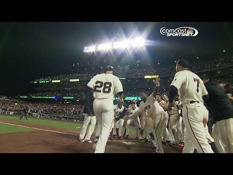 Giants Walk Off On Posey's Two-run Blast video