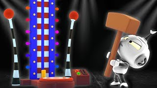 Rob The Robot | Fun Fair Planet | Funny Animated Cartoons for Kids by Oddbods and Friends
