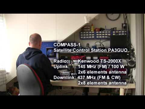 Compass-1 Telemetry download (CW)