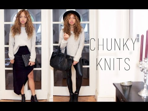 THE CHUNKY KNIT | Styling