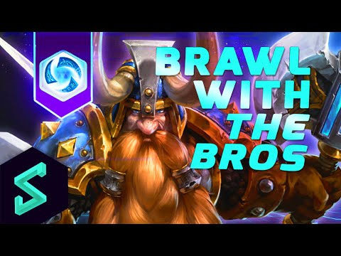 Heroes of the Storm Gameplay | Brawl With The Bros 9 | Hengest & CaptainShack | Heroes of the Storm