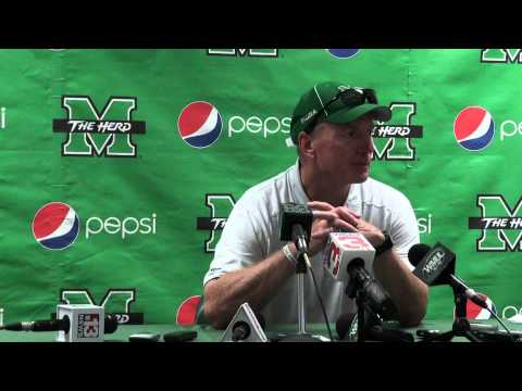Doc Holliday's Post-Game Press Conference After Defeating UTSA