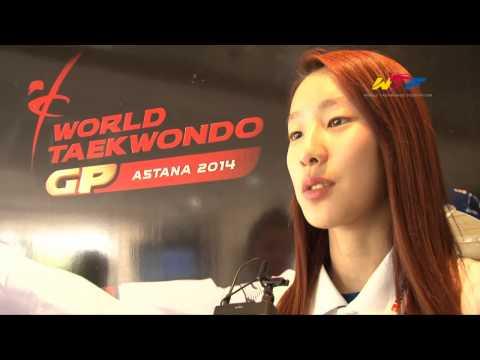 Silver | Kim Jaeah (kor)   2014 Wtf World Taekwondo Grand Prix Series 2 video