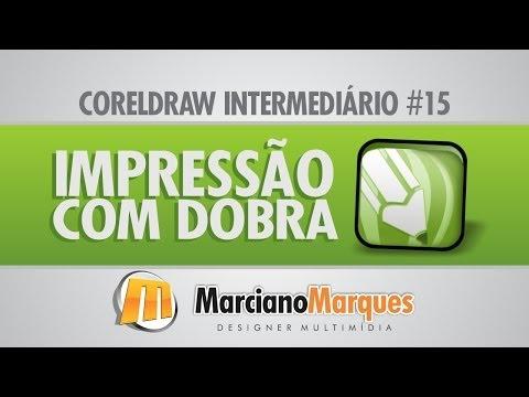 Impressão com Dobra // CorelDRAW Intermediário #15