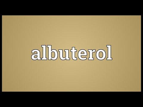 Header of Albuterol