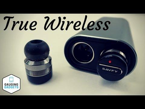 Savfy True Wireless Headphones Review - Truly Wireless Bluetooth Earbuds - BTD0158