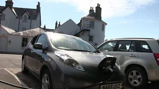 Nissan Leaf 24kw does Scotland NC 500