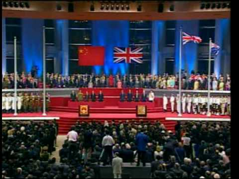 香港回歸交接儀式 Hong Kong Handover Ceremony 1997 [HQ]