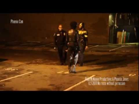 Phoenix Jones Breaks Up Fight (uncut)