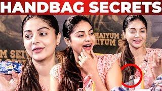 Inside Sanamshetty's Handbag? What's Inside The HANDBAG