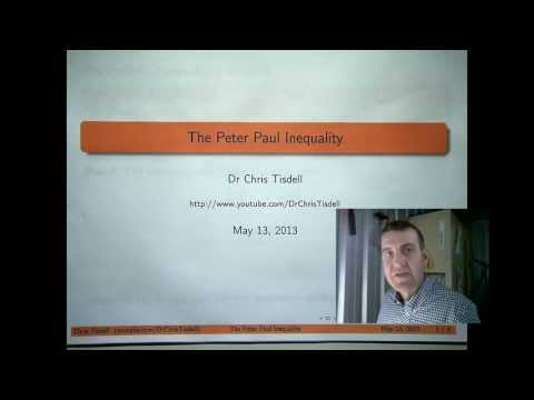 The Peter Paul Inequality