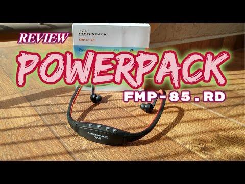 Unboxing e Review: Fone de Ouvido MP3 Powerpack FMP-85.RD