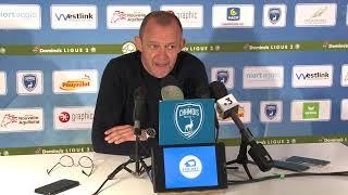 J34 : Chamois Niortais FC - Gazelec Ajaccio, conférence de presse