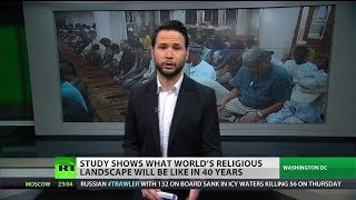 Video: Islam fastest growing religious population, to match Christianity by 2050