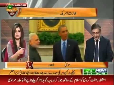 Brilliant super inteligent Pakistani callers to Pak media discussion on Obama's India trip...