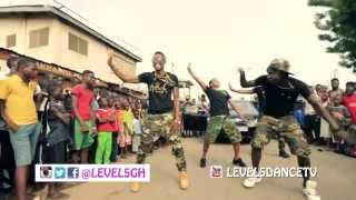Shatta Wale Ft. Sarkodie (Dancehall Commando Official Dance Video By Level 5
