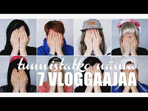 5k Special: Tunnistatko NÄmÄ 7 Vloggaajaa? video