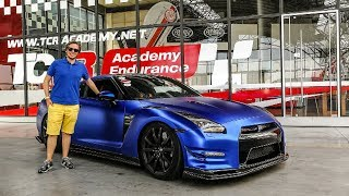 800hp Nissan GT-R Driven: IT'S A POWERFUL BEAST! 😮 [Sub ENG]