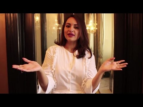 Sonakshi Sinha On Breast Cancer Awareness   Elle Breast Cancer Campaign