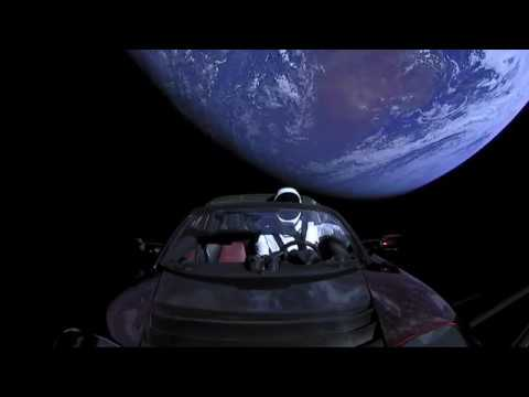 Falcon Heavy - Life on Mars