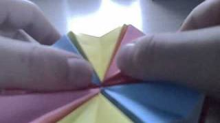 Origami Magic Circle (not A Tutorial)