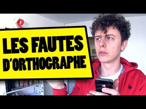 NORMAN - LES FAUTES D'ORTHOGRAPHE
