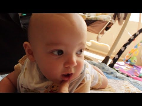 Incredible Infant Speaks Perfect Sentences!