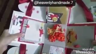 Handmade Creative Red Explosion box Ideas/Handmade Gifts/