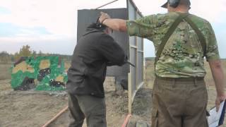 IPSC - Mosin rifle helps to open manual class